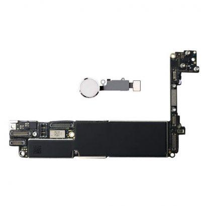 i7 shop - купить Материнская плата iPhone 7 32 Silver (с белой кнопкой) Neverlock