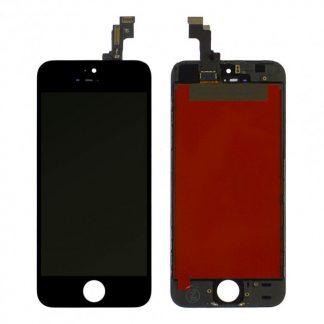 i7 shop - купить Дисплейный модуль для iPhone 5s / SE (Black) Original OEM в рамке Черный