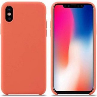 i7 shop - купить Чехол (Silicone Case) для iPhone XS Max Original Nectarine