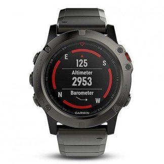 i7 shop - купить Спортивные часы Garmin Fenix 5X Slate Gray Sapphire with Metal Band 010-01733-03 (F00147566)