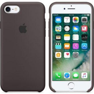 i7 shop - купить Чехол (Silicone Case) для iPhone 7 / iPhone 8 Original Cocoa