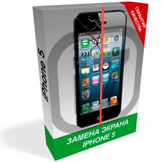 i7 shop - купить Замена экрана iPhone 5 (Запчасть + работа)