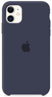 i7 shop - купить Чехол (Silicone Case) для iPhone 11 Original Midnight Blue