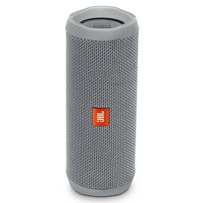 i7 shop - купить Портативная колонка Акустическая система JBL Flip 4 Gray (JBLFLIP4GRY Grey Серая)