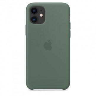 i7 shop - купить Чехол Silicone Case для iPhone 11 Pine Green OEM A+ Панель Зеленая