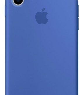 i7 shop - купить Чехол (Silicone Case) для iPhone XS Max Blue