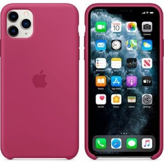i7 shop - купить Чехол (Silicone Case) для iPhone 11 Original Pomegranate