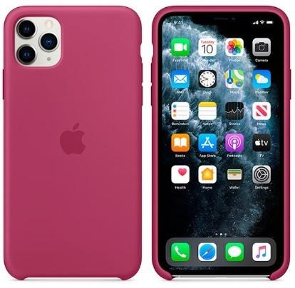 i7 shop - купить Чехол (Silicone Case) для iPhone 11 Original Pomegranate