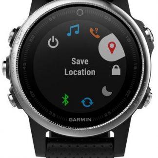 i7 shop - купить Мультиспортивные GPS-часы Garmin Fenix 5s Silver/Black (010-01685-02)