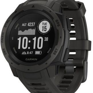 i7 shop - купить Спортивные часы Garmin Instinct Graphite (010-02064-00)