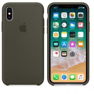 i7 shop - купить Чехол (Silicone Case) для iPhone X / iPhone XS Cocoa