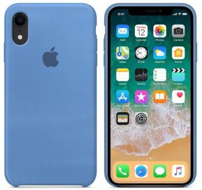 i7 shop - купить Чехол (Silicone Case) для iPhone XR Original Cornflower