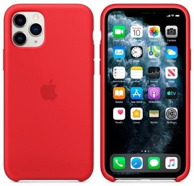 i7 shop - купить Чехол (Silicone Case) для iPhone 11 Pro Original Red
