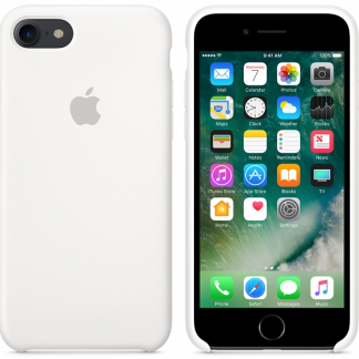 i7 shop - купить Чехол (Silicone Case) для iPhone 7 / iPhone 8 White