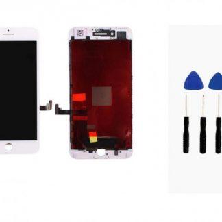 i7 shop - купить Дисплейный модуль (дисплей + сенсор) iPhone 7 (белый) + набор для замены модуля