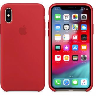 i7 shop - купить Чехол (Silicone Case) для iPhone X / iPhone XS Red