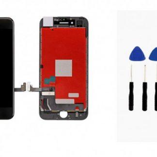 i7 shop - купить Дисплейный модуль (дисплей + сенсор) iPhone 7 (черный) + набор для замены модуля