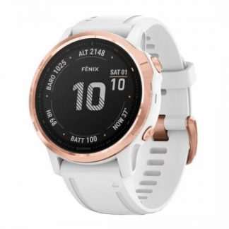 i7 shop - купить Garmin Fenix 6S PRO Rose-White Gorilla Glass 010-02159-11