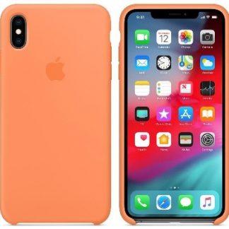 i7 shop - купить Чехол (Silicone Case) для iPhone XS Max Original Papaya