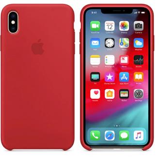i7 shop - купить Чехол (Silicone Case) для iPhone XS Max Red