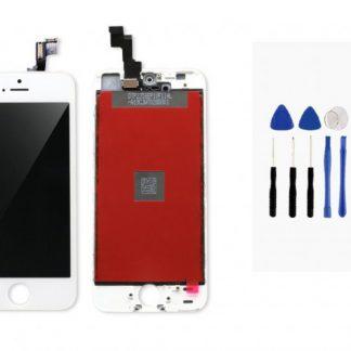 i7 shop - купить Дисплейный модуль (дисплей + сенсор) iPhone 5s/ SE (белый) + набор для замены модуля .