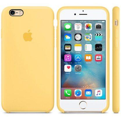 i7 shop - купить Чехол (Silicone Case) для iPhone 7 / iPhone 8 Yellow