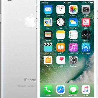 i7 shop - купить Мобильный телефон Apple iPhone 7 32GB Silver Б/У
