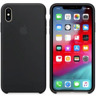 i7 shop - купить Чехол (Silicone Case) для iPhone XS Max Black
