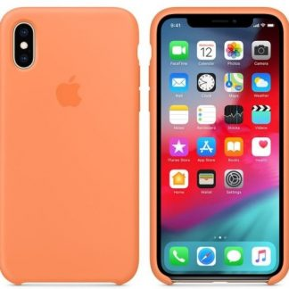 i7 shop - купить Чехол (Silicone Case) для iPhone X / iPhone XS Original Papaya