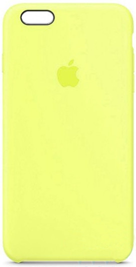 i7 shop - купить Чехол (Silicone Case) для iPhone 6 / iPhone 6S Original Yellow