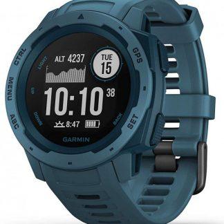 i7 shop - купить Спортивные GPS-часы с пульсометром Garmin Instinct Lakeside Blue