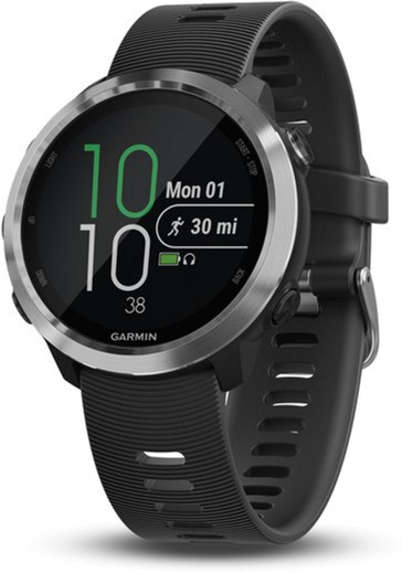 i7 shop - купить Спортивные часы Garmin Forerunner 645 Music Black with Stainless Hardware (010-01863-20)