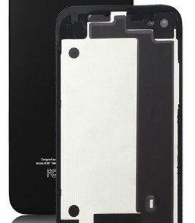 i7 shop - купить Крышка задняя iPhone 4 Black (айфон 4 черный)