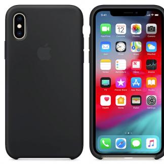 i7 shop - купить Чехол (Silicone Case) для iPhone X / iPhone XS Black