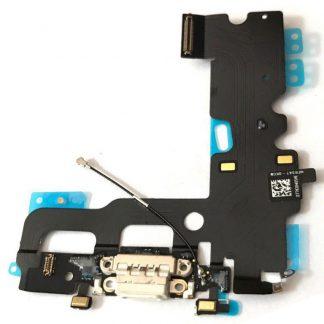 "i7 shop - купить Шлейф зарядки iPhone 7 (4.7"") Charge White (Белый нижний док)"