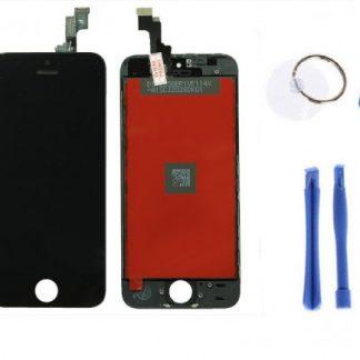 i7 shop - купить Дисплейный модуль (дисплей + сенсор) iPhone 5s/ SE (черный) + набор для замены модуля .