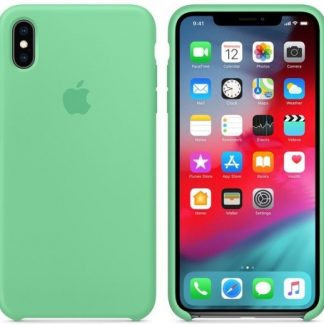 i7 shop - купить Чехол (Silicone Case) для iPhone X / iPhone XS Original Spearmint