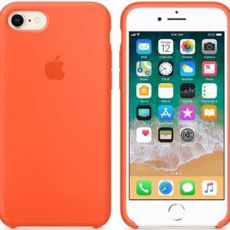 i7 shop - купить Чехол (Silicone Case) для iPhone 7 / iPhone 8 Original Orange