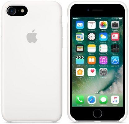 i7 shop - купить Чехол (Silicone Case) для iPhone 7 / iPhone 8 Original White