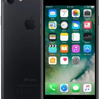 i7 shop - купить Мобильный телефон Apple iPhone 7 32GB Black Б/У