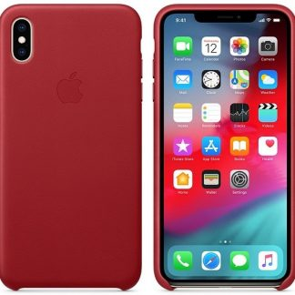 i7 shop - купить Чехол (Silicone Case) для iPhone XS Max Original Red
