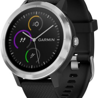 i7 shop - купить Спортивные часы Garmin Vivoactive 3 Black / Stainless steel (010-01769-02)