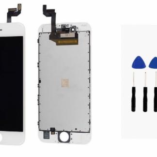 i7 shop - купить Дисплейный модуль (дисплей + сенсор) iPhone 6s (белый) + набор для замены модуля .